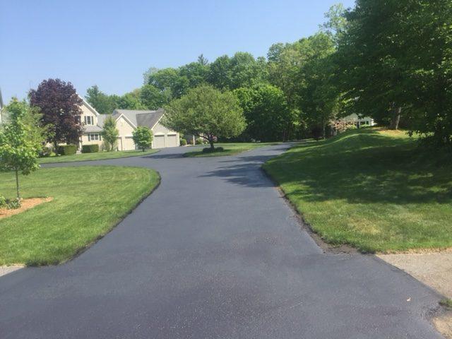 residential asphalt sealing natick ma